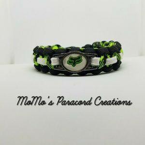Fox Racing Bracelet. All sizes. Handmande. New!!
